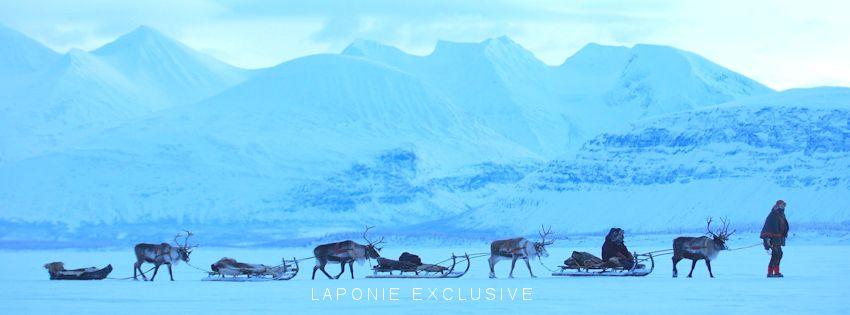 voyage laponie finlande suede traineau de rennes ferme de rennes lapons